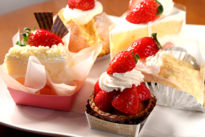 シュークリームとケーキのお店です