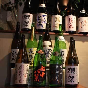 日本全国の厳選された銘酒の数々♪