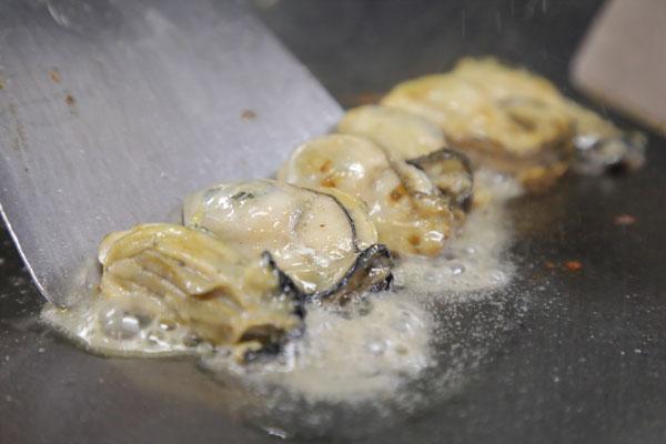 広島産 牡蠣のバターポン酢