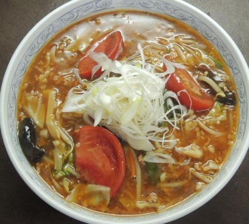 トマト黒酢スーラ―メン