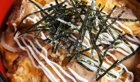 マヨチャーシュー丼のイメージ