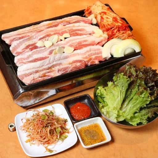 韓国 ネギサラダ