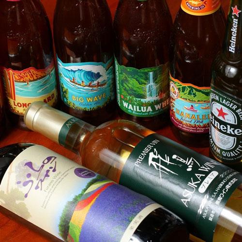 日本のワインと世界のビール