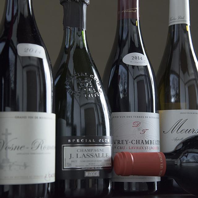 フランスワインを中心に