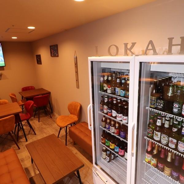 セルフで選べる世界のビール