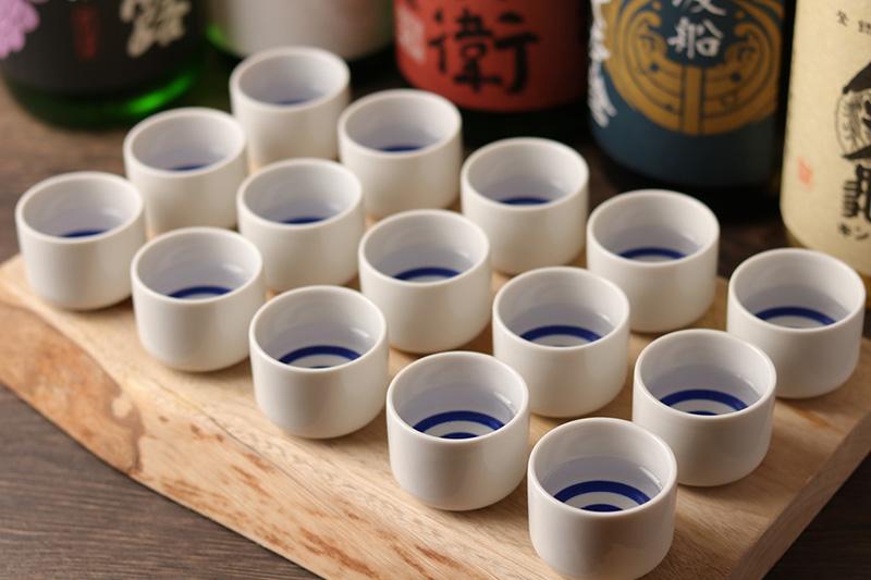 〔全国各地の日本酒〕飲み比べも!!
