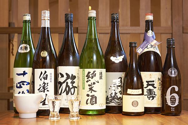 日本酒地酒を堪能する