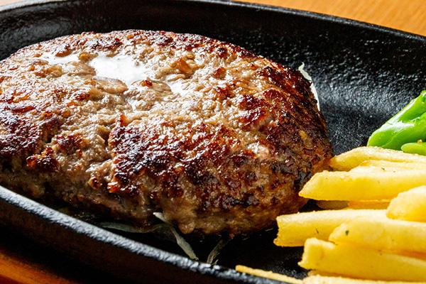 北海道産牛100%手ごねハンバーグ 180g