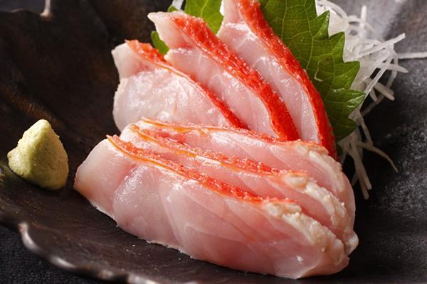 金目鯛刺身
