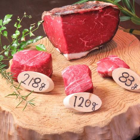北海道産の熟成牛!量り売りにて対応させていただきます♪