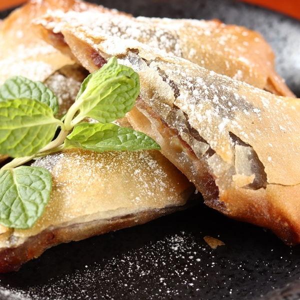 Rin特製バナナ春巻き