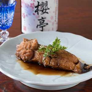 煮魚(赤ガレイ)