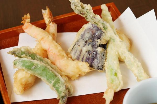 天ぷら屋さんのような天ぷら