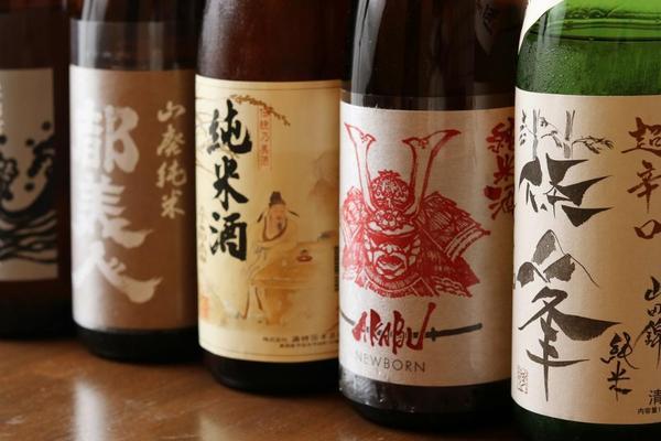 店主が厳選した日本酒ございます