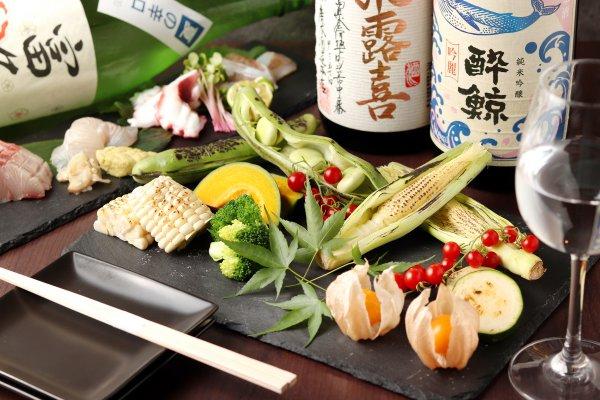 焼き野菜盛り合わせ